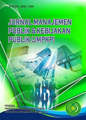 Jurnal Manajemen Publik & Kebijakan Publik (JMPKP)